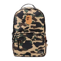"BAPE Nylon ""School Sux"" Sport Backpacks"