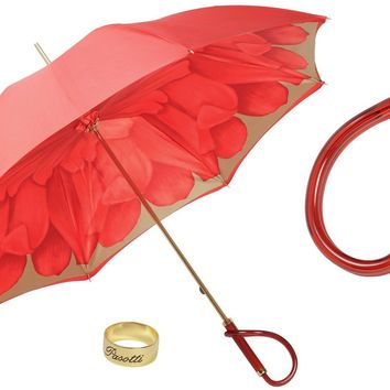 Pasotti Red Dahlia Umbrella II