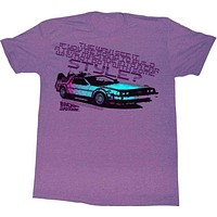 'A Little Style' Back To The Future Tee Shirt