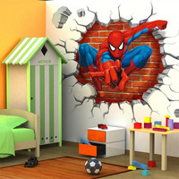Spiderman Home Decor Wall Decal.