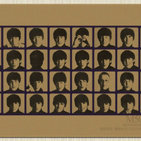 The Beatles Retro poster Kraft nr.5
