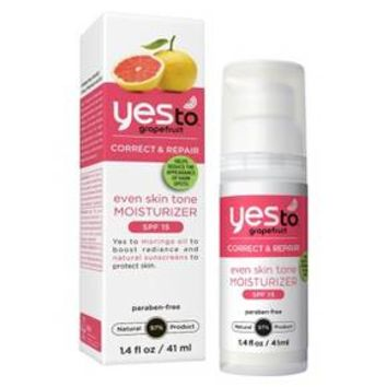 Yes To Grapefruit Correct & Repair Even Skin Tone Moisturizer SPF 15 - 1.4 oz : Target