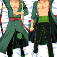 New  Male One Piece Anime Dakimakura Japanese Pillow Cover MALE10 MGF-0-695