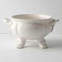 Beast's Feast Bowl by Anthropologie in White Size: One Size Bowls