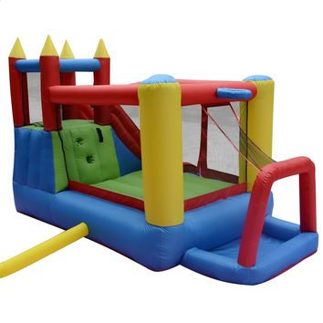 Kids Inflatable Bounce House Castle inflatable slide combo jumping castle with ball pit funny gift for lovely kids