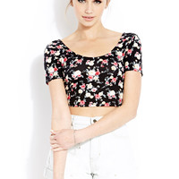 Spring Florals Crop Top