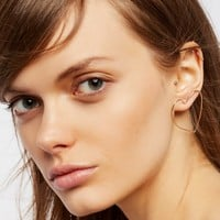 Free People Front Facing Shape Hoops