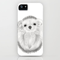 Baby Hedgehog iPhone Case by Veronica Ventress | Society6