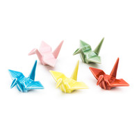 Japan Centre - Ceramic Origami Crane Shaped Chopstick Rests - Dining