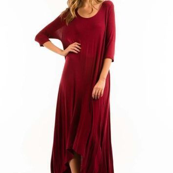 The Free Falling Pocket Maxi Dress