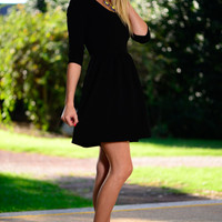 Want To Love You Dress, Black