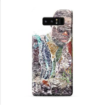 Biggie Smalls plastic wrap Samsung Galaxy Note 8 case