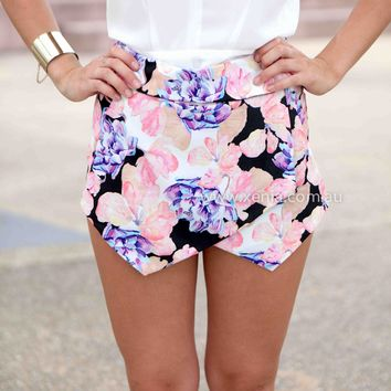 SWEET MIRACLE SKORTS , DRESSES, TOPS, BOTTOMS, JACKETS & JUMPERS, ACCESSORIES, 50% OFF SALE, PRE ORDER, NEW ARRIVALS, PLAYSUIT, COLOUR, GIFT VOUCHER,,SHORTS,Pink,Print Australia, Queensland, Brisbane