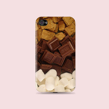Super Yummy things, Chocolate Plastic Hard Case - iphone 5 - iphone 4 - iphone 4s - Samsung S3 - Samsung S4 - Samsung Note 2