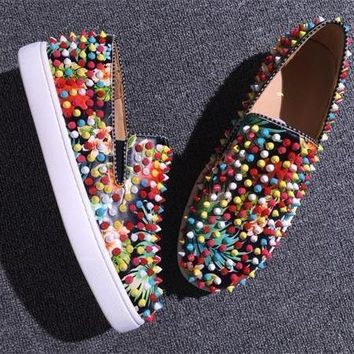 Cl Christian Louboutin Flat Style #709