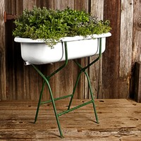 Vintage Bathtub with Stand