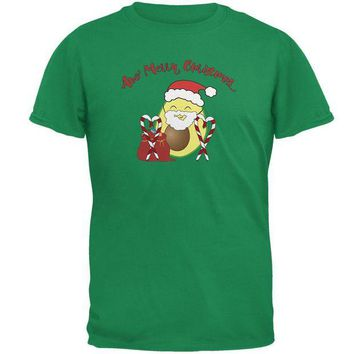 ONETOW Avo Have A Merry Christmas Avocado Cute Funny Pun Mens T Shirt
