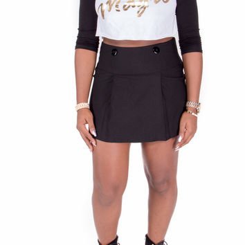 Black Girl Magic Raglan Crop Top