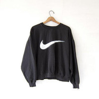 Check Black CrewNeck