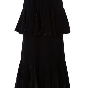 Yves Saint Laurent Vintage layered long skirt