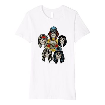 Guns N' Roses Skull Heads T-Shirt