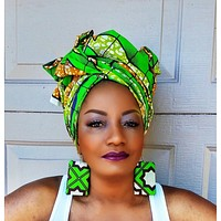THE Green SAMBA Headwrap