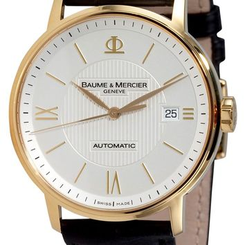 Baume and Mercier Classima 18K Gold Automatic Watch MOA08787