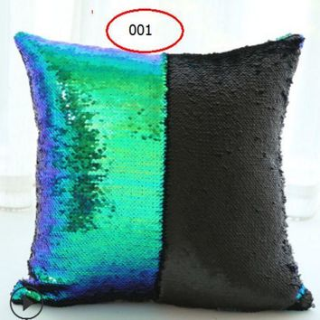 CREYXF7 The latest two-color sequin pillow
