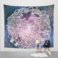 Treasure Planet Wall Tapestry by Jenndalyn