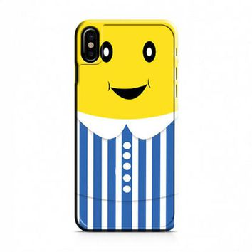 Cartoon B1B2 Banana iPhone X Case