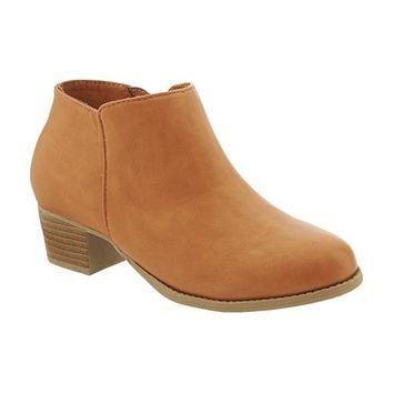 Old Navy Girls Faux Leather Ankle Boots