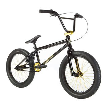 FIT 2019 EIGHTEEN BLACK COMPLETE BMX BIKE