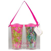 Insulated Tumbler Set in Hot Spot & Jungle Tumble by Lilly Pulitzer