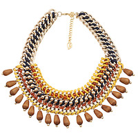 Wheel Beads Multilayer Necklace