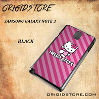 hello kitty For Samsung Galaxy Note 3 Case - Gift Present Multiple Choice