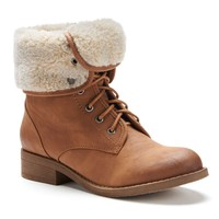 Women's Fold-Over Boots