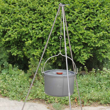 Modular Cooking Tripod for Dutch Oven Cooking