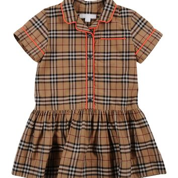 Burberry Children Dress Girl 3-8 years online on YOOX United Kingdom