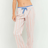 Calvin Klein Lively Striped Pyjama Bottoms - Urban Outfitters