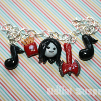 Marceline from Adventure Time Charm Bracelet