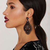 Sleepless Nights Chandelier Earrings