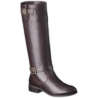Women's Mossimo Supply Co. Rylee Genuine Leather Riding Boot - Assorted Colors