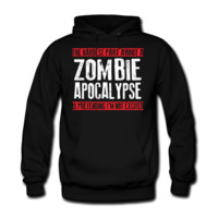 walking dead comic Men's Hooded Sweatshirt - Men's Hooded Sweatshirt