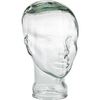 Recycled Glass Head