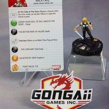 Marvel Heroclix Fear Itself set Valkyrie #005 Common