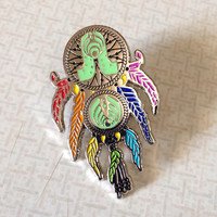 BassLights Dreamcatcher Pin