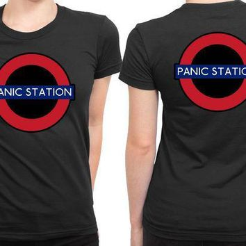 MDIG1GW The Muse Panic Station 2 Sided Womens T Shirt