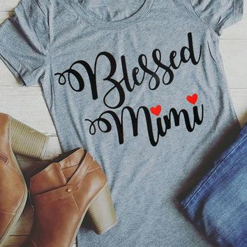 Blessed Mimi - Women's Sarcasm T-shirt