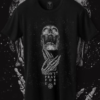 Don't pray for us. Bokko and Belial. Gothic online store. Men shirts.