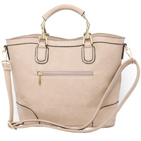 Amanda All or Nothing Bag - Taupe